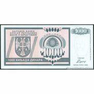 TWN - BOSNIA-HERZEGOVINA 137a - 1000 1.000 Dinara 1992 Prefix AA UNC - Bosnia Y Herzegovina
