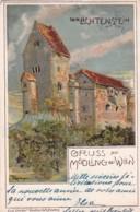 37362Gruss Aus Mödling Bei Wien, Der Lichtenstein )(gestempelt 1900)(sehe Ecken) - Vienna