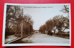 Romania Barlad Bulevardul Gradinei Publice - Romania