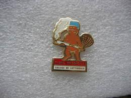 Pin's Tabac, Brisons La. College De LUTTERBACH (Dépt 68) - Pin's