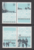 2009 Australian Antarctic Territory  South Magnetic Pole Complete Set Of 2 Pairs MNH - Australian Antarctic Territory (AAT)