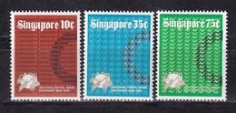 364k * SINGAPUR 215/7 * 3 FEINE WERTE UPU * POSTFRISCH **!! - Singapur (1959-...)