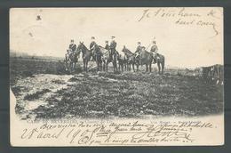 OUDE  CPA. Camp De Beverloo . Camp De Tir. 1905 - Manoeuvres