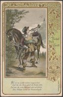 Behüt Dich Gott, 1902 - Trompeter Serie AK - Künstlerkarten