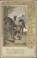 Behüt Dich Gott, 1902 - Trompeter Serie AK - Illustrators & Photographers