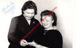 Huberte Vecray - Koninklijke Opera Gent - Foto 9x14cm - Gesigneerd/signed - Photos