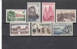 France - 1957 - N° YT 1125/31** - Série Touristique - Unused Stamps