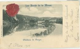 Freÿr 1901; Château De Freyre - Voyagé. (Ed. Nels) - Hastiere