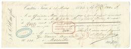 MANDAT DE PAIEMENT CASTRES TARN 1843 POUR MARSEILLE - Azioni & Titoli