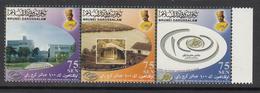 2007 Brunei Public Works Complete Strip Of 3 MNH - Brunei (1984-...)