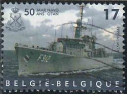 Belgique 1999 Yv. N°2811 - OTAN - Navire  - Oblitéré - Belgique