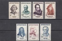 France - 1957 - N° YT 1132/38** - Célébrités étrangères - France