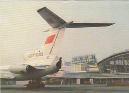 AERODROMES - Ukraine - Kiev - The Borispol Airport - Tupolev Tu-154 - Aeródromos