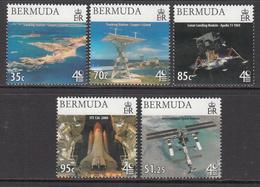 2009 Bermuda Space Man On The Moon Complete Set Of 5  MNH - Bermuda