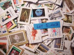 FRANCE : Lot De + De 1000 Timbres GRANDS FORMATS (Lot 5.103) - Sellos
