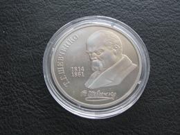 USSR Soviet Russia Taras Shevchenko 1 Ruble 1989 Proof - Russland