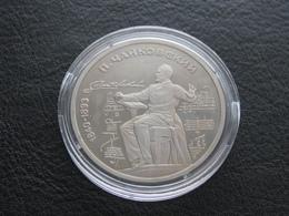USSR Soviet Russia Tchaikovsky 1 Ruble 1990 Proof - Russland