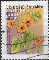 SOUTH AFRICA 2001 Flora And Fauna - (1r.40) Black-eyed Susy FU - África Del Sur (1961-...)