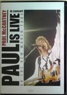 DVD PAUL McCARTNEY Live On The New World Tour - DVD Musicaux