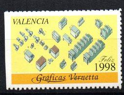 Viñeta De Valencia De 1998 - España