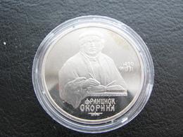 USSR Soviet Russia Francis Skorina 1 Ruble 1990 Proof - Russland