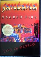 DVD SANTANA Sacred Fire Live In Mexico - DVD Musicaux
