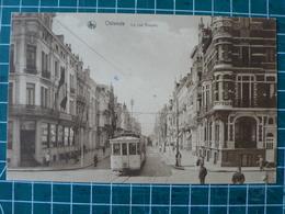 Oostende Ostende Rue Royale Met TRAM - Oostende
