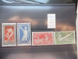 France 183/86 A Charieres *  Olympiade 1924 - Unused Stamps