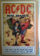 DVD ACDC No Bull Madrid 1996 - DVD Musicaux
