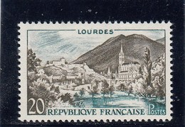 France - 1958 - N° YT 1150** - Série Touristique - Unused Stamps