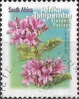 SOUTH AFRICA 2001 Flora And Fauna - (1r.40)  Tree Pelargonium FU - África Del Sur (1961-...)