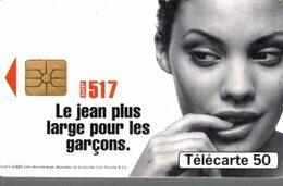 TELECARTE 50 UNITES LEVIS 517 LE JEAN  PLUS LARGE POUR LES GARCONS - Werbung
