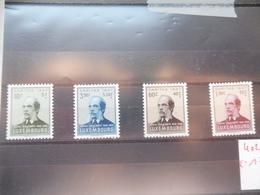 Luxembourg ** 402/05 Caritas 1947 - Luxemburg