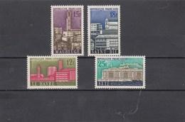 France - 1958 - N° YT 1152/55** - Villes Reconstruites - Unused Stamps