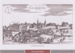 Slovenia Slowenien Slovenie: 2019 Postal Stationery Card; Old City Of Kranj - Cranburg; Castle Architecture; Fenster - Arquitectura
