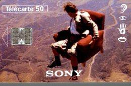 TELECARTE 50 UNITES  LE 16/9 PAR SONY - Werbung