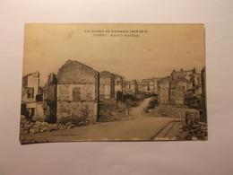 La Guerre En Lorraine 1914-1918 Rue De La Porte Basse - Nomeny