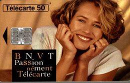 TELECARTE 50 UNITES B N V T  PASSIONNEMENT TELECARTE - Werbung