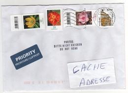 Beaux Timbrex , Stampx Sur Lettre , Enveloppe , Cover , Mail Du 10/04/10 ?? Pour La France - Briefe U. Dokumente