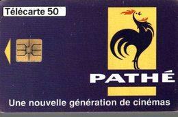 TELECARTE 50 UNITES PATHE UNE NOUVELLE GENERATION DE CINEMAS - Werbung