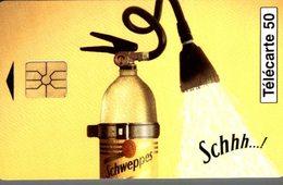 TELECARTE 50 UNITES SCHWEPPES - Werbung