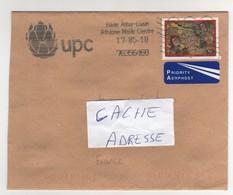 Beau Timbre , Stamp Sur Lettre , Enveloppe , Cover , Mail Du 17/05/2010 Pour La France - 1949-... Repubblica D'Irlanda