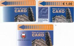 CITTA DI LUCCA CARD PARCHEGGI - Biglietti D'ingresso