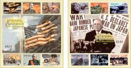 """(WK-Alb1) Mikronesien Mi 1256/67 (2Kleinbogen) """"WWII - PEARL HARBOR 60TH ANNIVERSARIE 1941""""  ** Postfrisch - Mikronesien"""