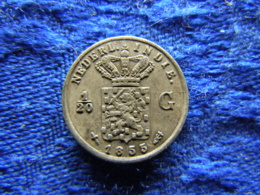 NETHERLANDS EAST INDIES 1/20 GULDEN 1855, KM303 - [ 4] Colonies