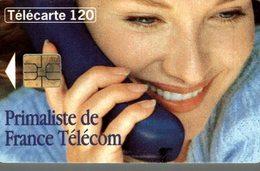 TELECARTE 120 UNITES  PRIMALISTE FRANCE TELECOM - Werbung