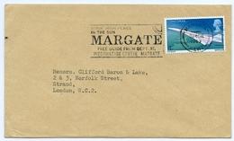 Slogan Postmark On Cover MARGATE / CONCORDE 1969 / Strand London - 1952-.... (Elizabeth II)
