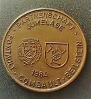 MEDAILLE JUMELAGE DE LA VILLE DE PONTAULT-COMBAULT BEILSTEIN 1984 (N° 666) - Touristiques