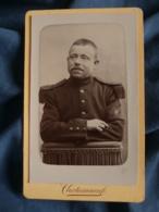 Photo CDV  Chateauneuf à Avignon Portrait Militaire 40e Infanterie - L161A - Krieg, Militär