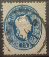 AUSTRIA 1860/61 - Canceled - ANK 22 - 15kr - Used Stamps